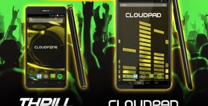 CloudFone Thrill 500x, CloudPad 702q