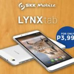 SKK Mobile Lynx Tab offers a 7-inch tablet-y goodness for Php3,999
