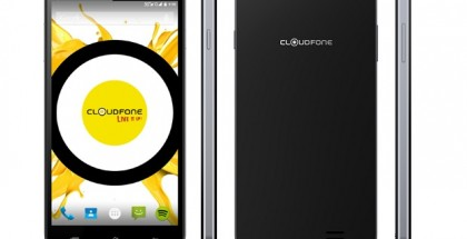 CloudFone Excite LTE black