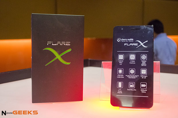 Cherry Mobile Flare X Lollipop 5.1 Update