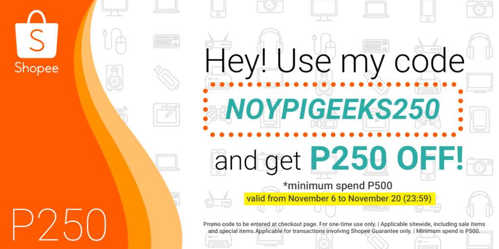 NoypiGeeks-Shopee-Discount-code
