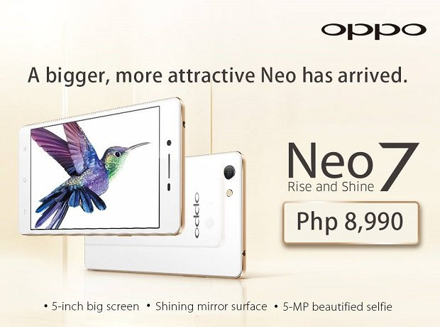 Oppo Neo 7 arrives in the Philippines, officially costs ...