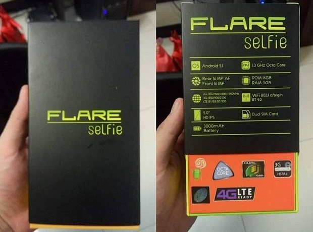 Cherry Mobile Flare Selfie leaked photo