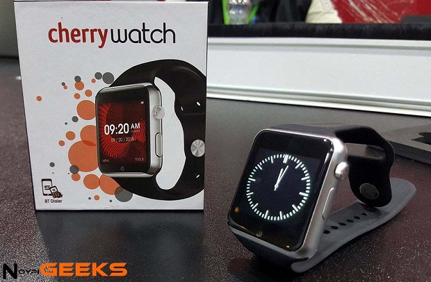 The Cherry Watch Smartwatch Is Now Official Noypigeeks