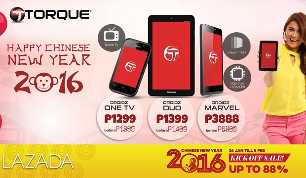Torque Chinese New Year Sale 2016