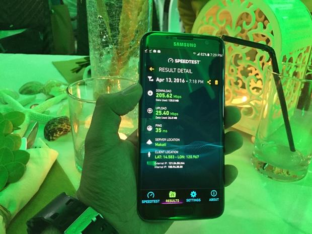 Smart-Galaxy-S7-LTE-A-demo-speed-test