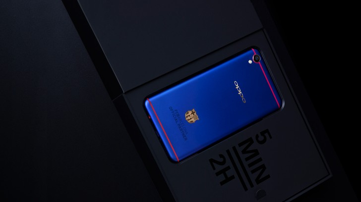 oppo f1 plus fc barcelona edition revealed looks good in