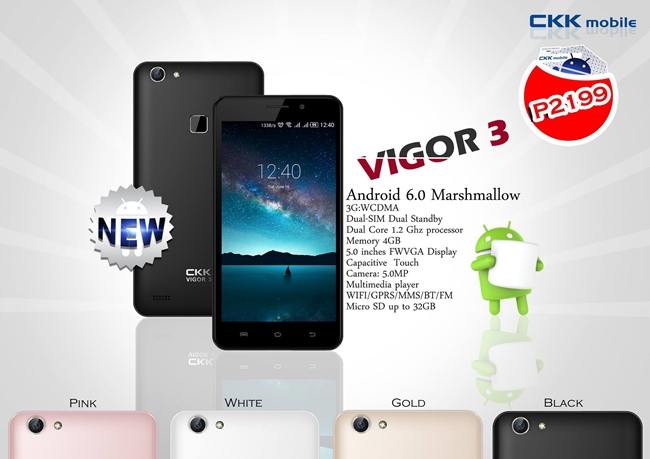 CKK-Mobile-Vigor-3-Specs-Price