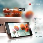 Cherry Mobile Flare HD 2: 5-inch HD Display, Quad-core CPU, only Php2,999