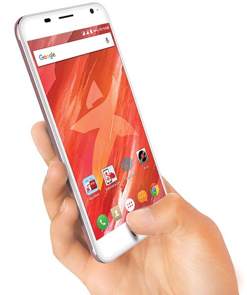 Starmobile UP Sense fingerprint smartphone
