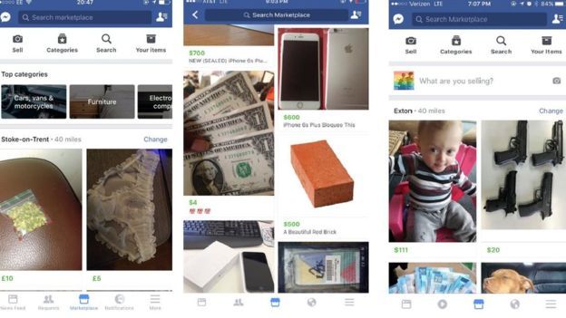 facebook marketplace lets users buy and sell items inside the app noypigeeks. Black Bedroom Furniture Sets. Home Design Ideas