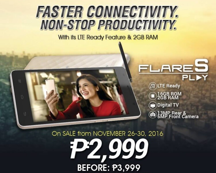 Cherry Mobile Flare S Play sale