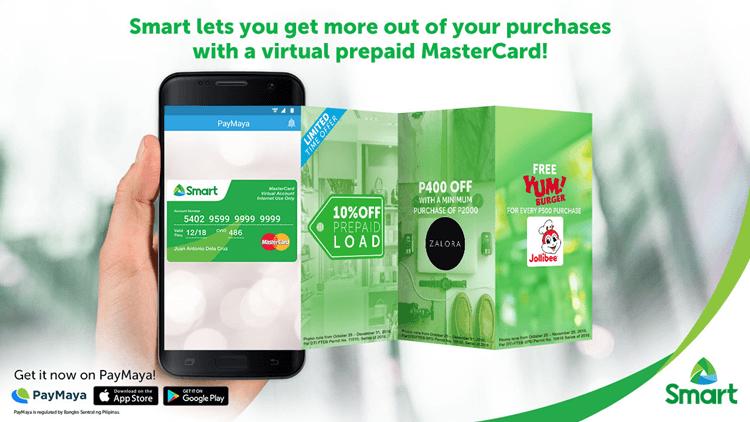 Smart PayMaya partnership - Smart MasterCard