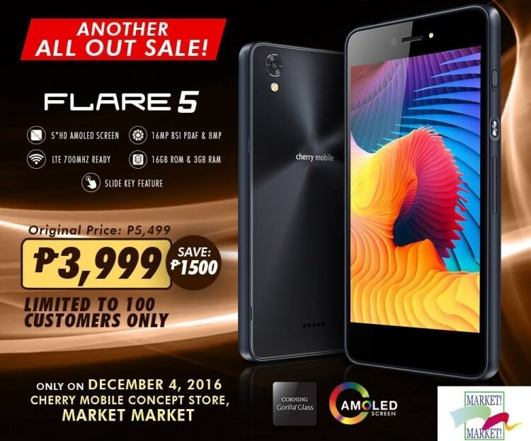 Cherry Mobile Flare 5 sale