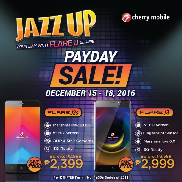 Cherry Mobile Payday Sale