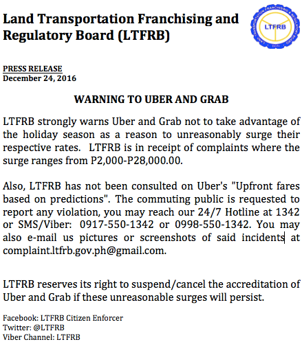 ltfrb-warns-grab-uber-unreasonable-surge-rates