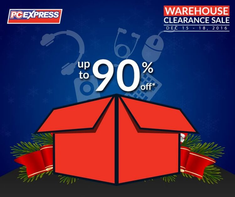 PC Express Warehouse Sale, Up to 90% off