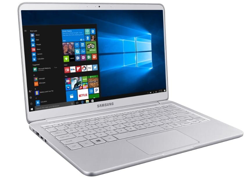 New Samsung Notebook 9 laptops