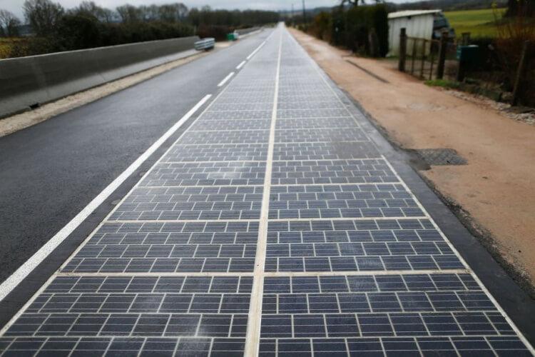 Solar Panel Road France