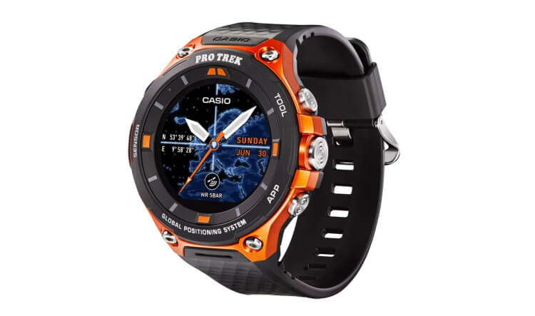 Casio WSD-F20 rugged smartwatch