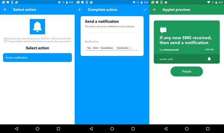 How to receive Android notifications on your iOS device