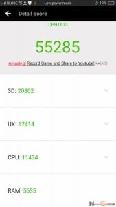 OPPO F3 Plus Benchmarks 2