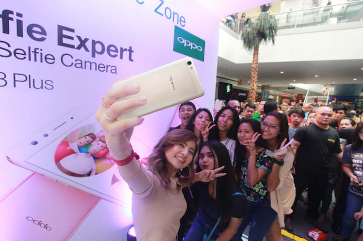 OPPO F3 Plus Road Show Success