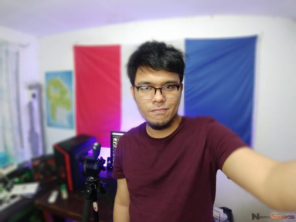 OPPO F3 Plus selfie bokeh