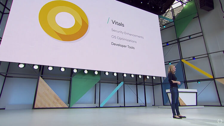 Android O new features - Vitals