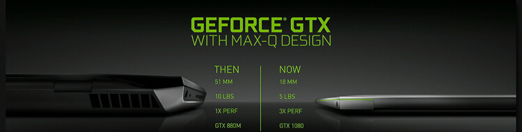 NVIDIA Max-Q tech is a diet pill for bulky gaming laptops
