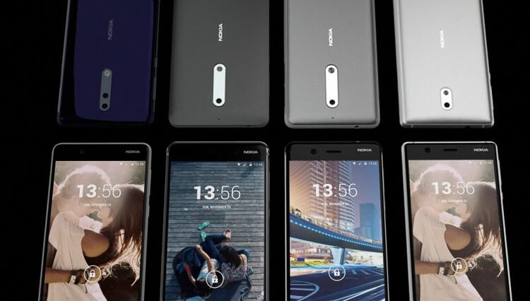 New Nokia smartphones leaked video
