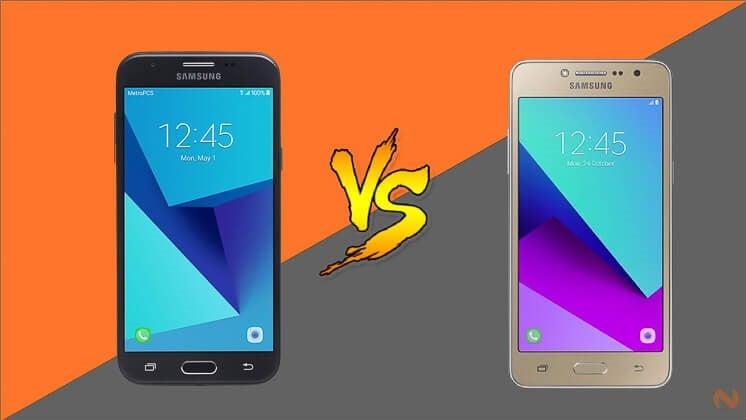 Samsung Galaxy J2 Prime versus Galaxy J3 Prime (2017)