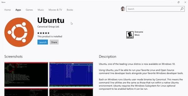 Windows-Store-Fedora-Ubuntu-SUSE-Linux
