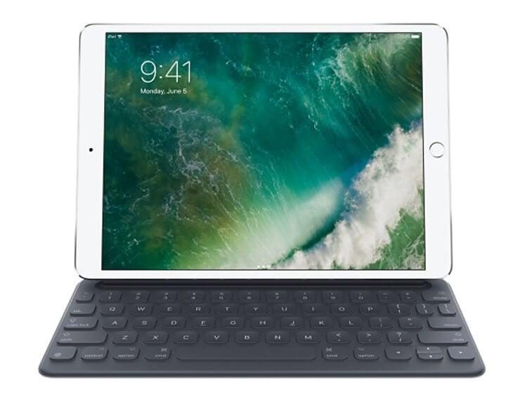 10.5-inch and 12.9-inch iPad Pro Smart keyboard