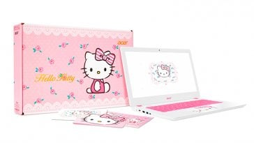 Acer Hello Kitty Limited Edition notebook