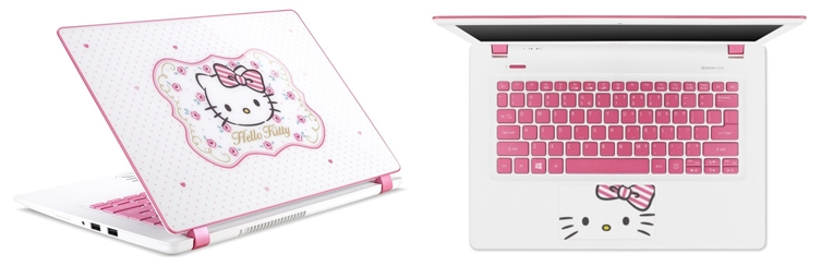 885a823a7 Acer Hello Kitty Limited Edition notebook is now available in the ...