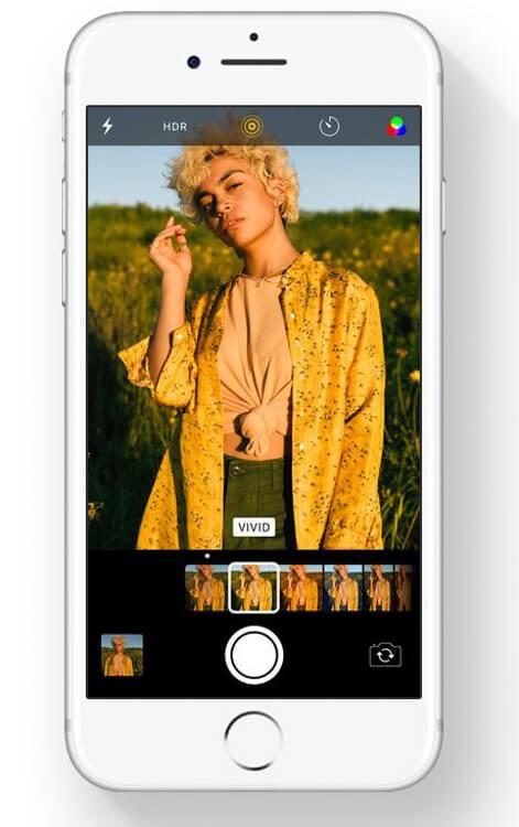 Apple iOS 11 - Creative and efficient Camera app