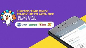 Lazada Prepaid Load Flash Sale