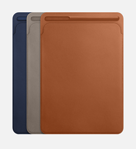 10.5-inch and 12.9-inch iPad Pro Leather Sleeve