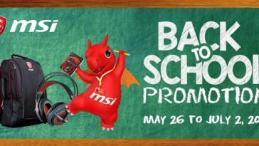 MSI Back to School Promo - NoypiGeeks