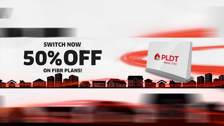 PLDT Home Fibr switch 50% off discount - NoypiGeeks