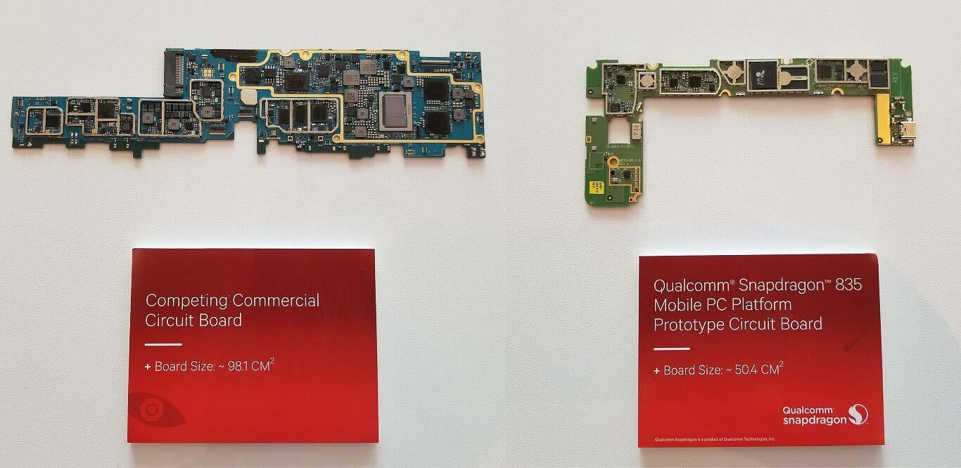 Qualcomm Snapdragon 835 Windows 10 PCs