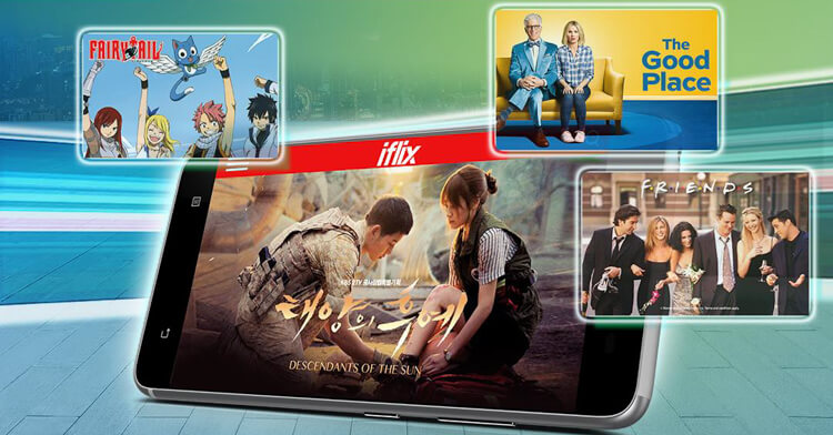 Smart Video Prime iWant TV and iflix
