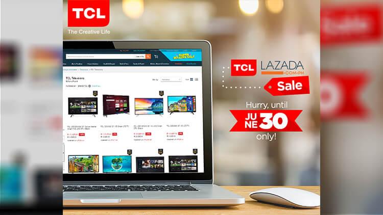 TCL Lazada promo