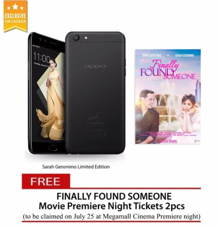 oppo-f3-sarah-geronimo-limited-edition-black