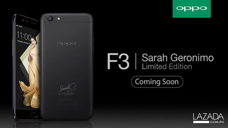 oppo-f3-sarah-geronimo-limited-edition