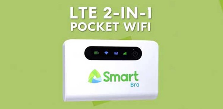 Smart 2-in-1 Pocket Wifi (ZTE MF903)