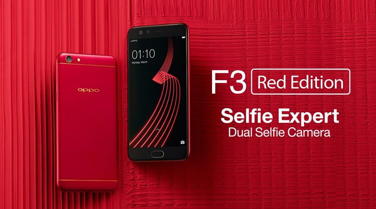 Image result for Red OPPO F3