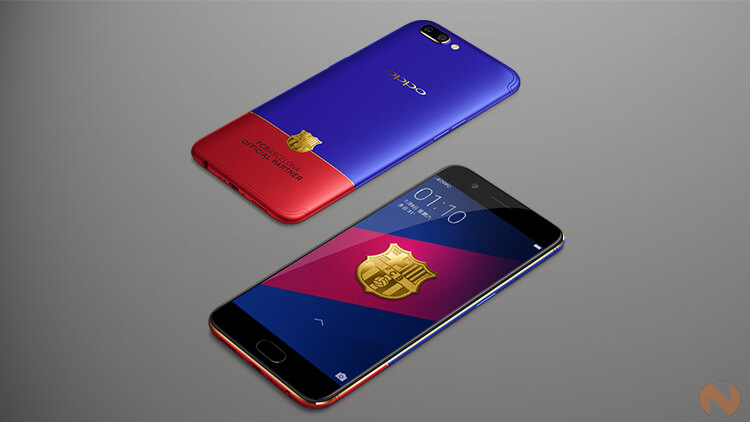 OPPO R11 FC Barcelona Edition-price-specs-features-availability