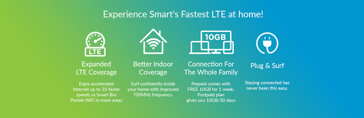 Smart Bro LTE Home WiFi-price